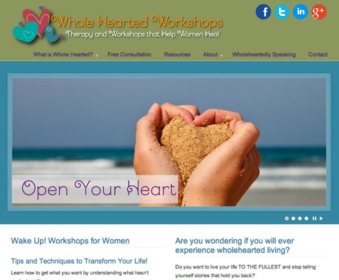 Whole Hearted Workshops and Therapy by Maria Bucci - student of Brené Brown