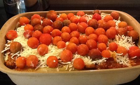 Cherry Tomato Lasagne