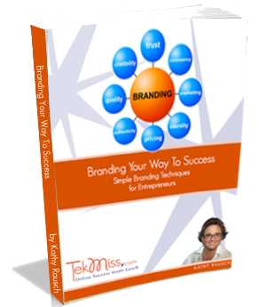 Branding Your Way to Success - TekMiss E-Book
