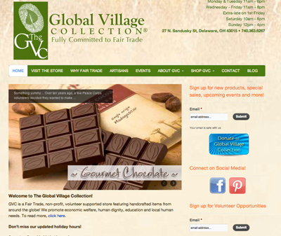 Global Village Collection in Delaware, Ohio