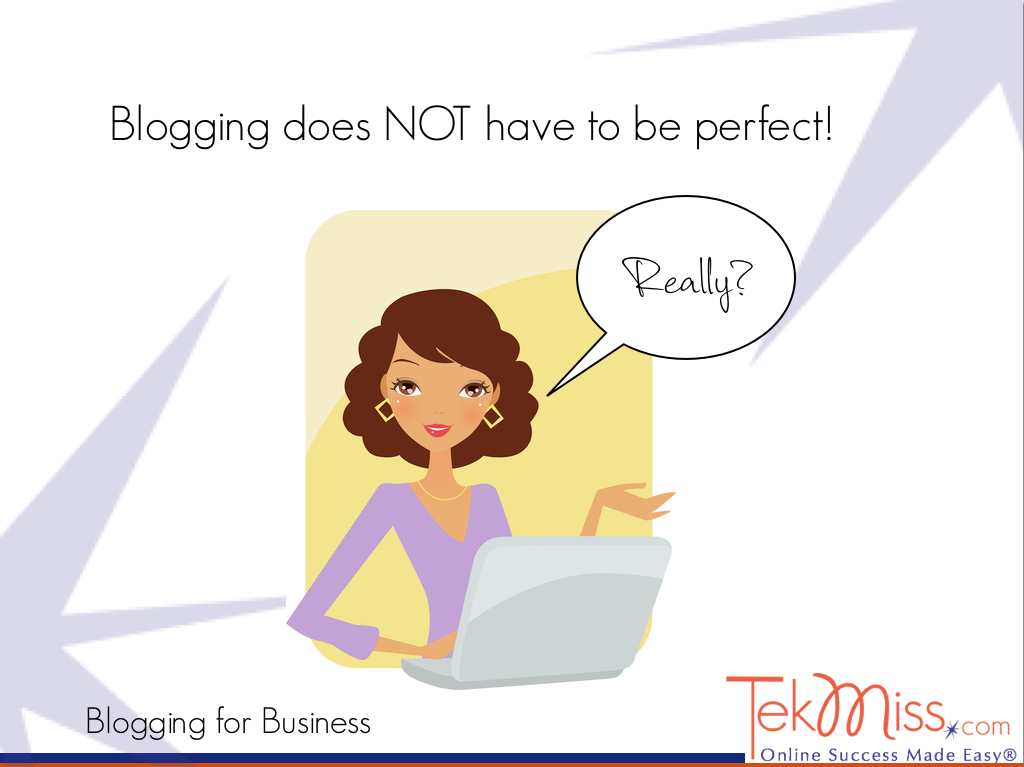 Blogging Tip #1