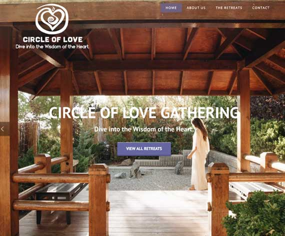 Circle of Love Website