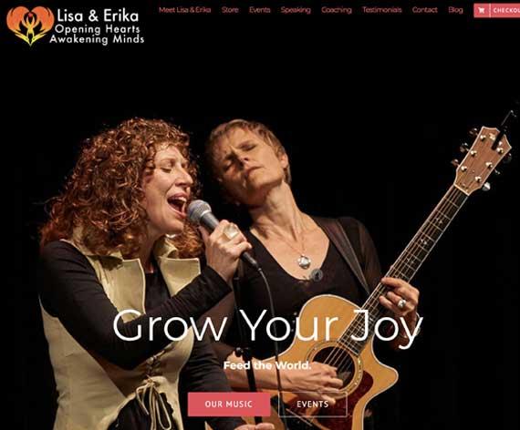 Lisa and Erika Website