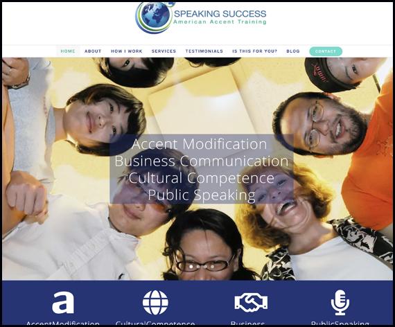 Speaking Success Website
