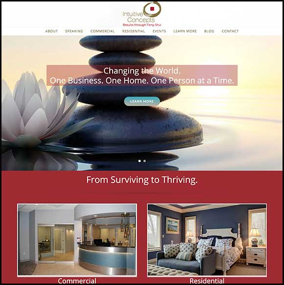 Intuitive Concepts Website Redesign